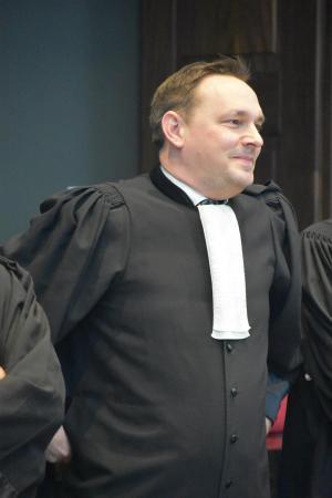 Advocaat Filip De Reuse. (foto LK)