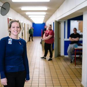 Directrice Sofie Vantomme van 'Ooit Vrij' op VIER: