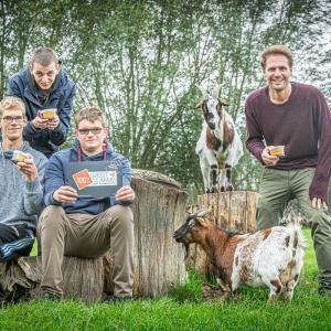 Dagcentrum Den Uytkant levert 3 nieuwe streekproducten, met ook ... geitenmelkchoco