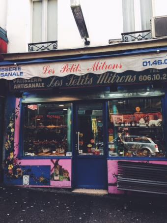 Parijs eetplekjes