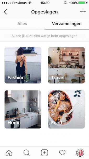 Instagram verzamelingen
