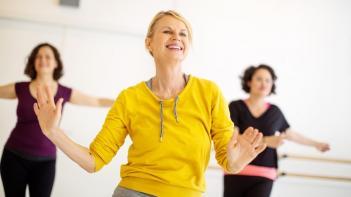 sporten menopauze