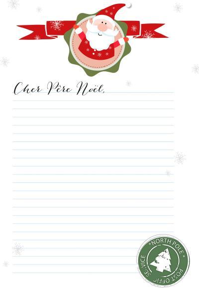 Lettre Pour Le Pere Noel.Envoyez Une Lettre Au Père Noël Femmes D Aujourd Hui