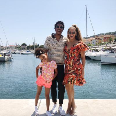 Jay-Z Beyoncé et leur fille