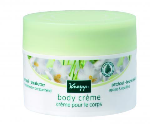 De body crème met hoogwaardige Patchouli-olie in combinatie met de verzorgende sheabutter zorgt langdurig voor een heerlijk zachte huid. De crème trekt snel in zonder een plakkerig gevoel. De crème is kalmerend en ontspannend.