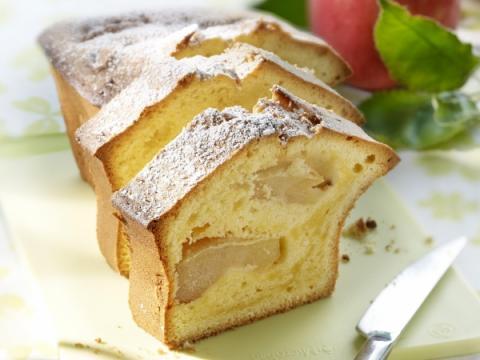 Smullen van appelcake