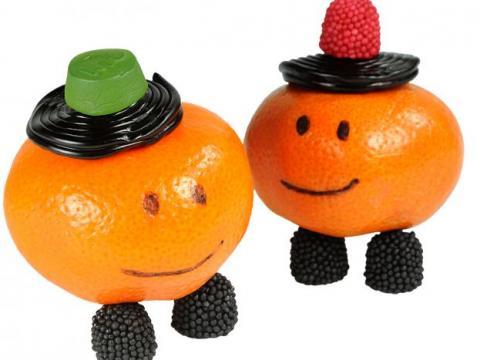 Knutseltip voor Sinterklaas: mandarijnmannetje