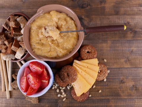 Fondue, ook voor vegetariërs!