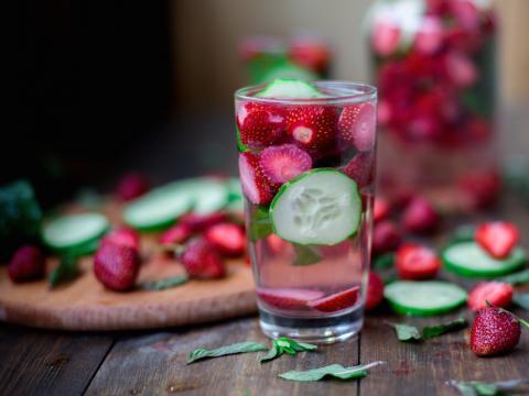 Infused water: kraantjeswater met een smaakje