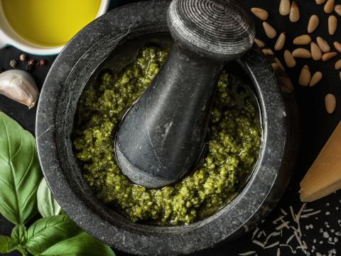 Pesto, maar dan anders