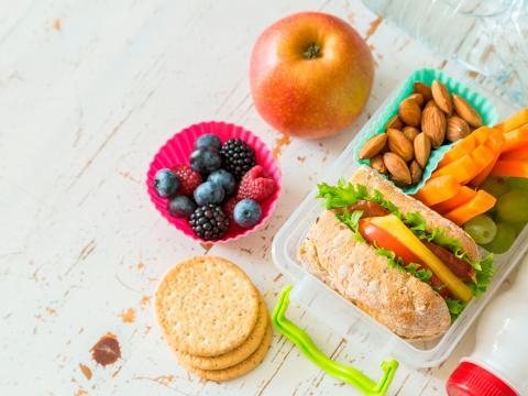 Bento lunch voor kids