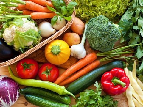 Rauwe of gekookte groenten?