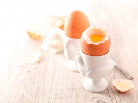 Zo kook je een ei