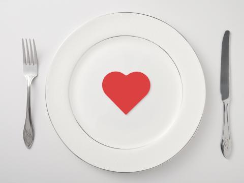 Saint-Valentin: menu express
