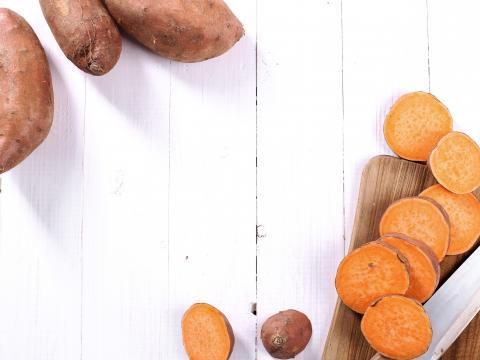 Trendingrediënt: zoete aardappel