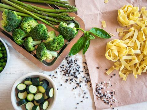 13 recettes de pâtes aux légumes