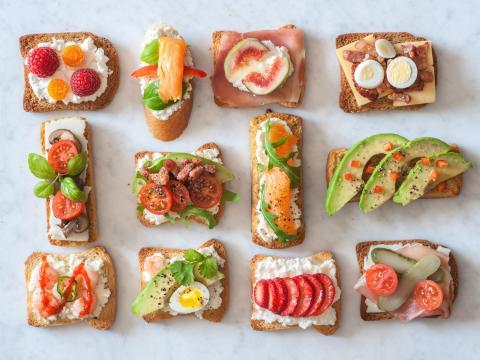 5 raisons d'adopter le toast garni 1
