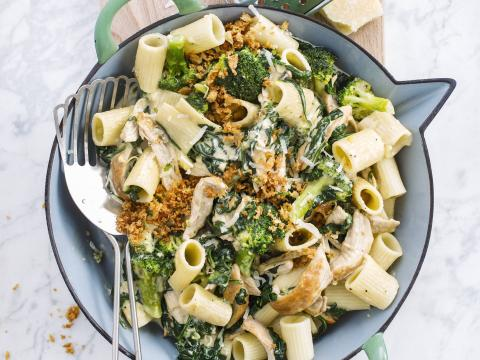 13 x pasta met broccoli