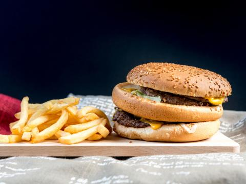 Au fast-food sans kilos 1