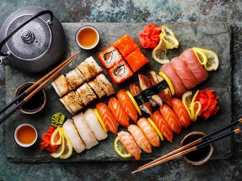 Makis, sushis, sashimis...