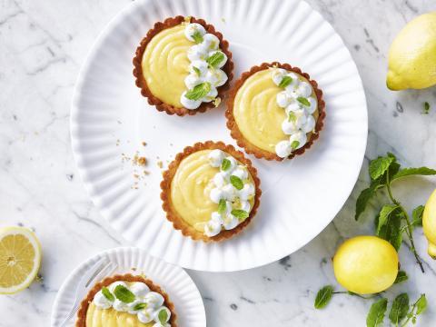 5 desserts gourmands avec du citron