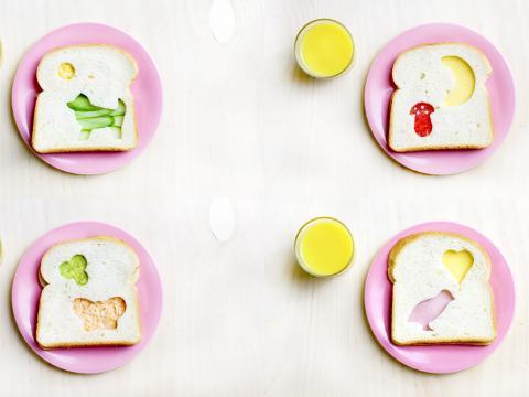Video: 4 x 'uitstekende' boterhammen voor kinderen