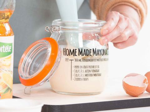 Mayonnaise maison: Prête en un tournemain grâce à Vandemoortele