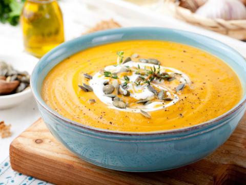 pimpez votre soupe de potiron