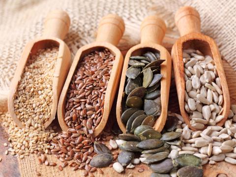 8 recettes à base de graines