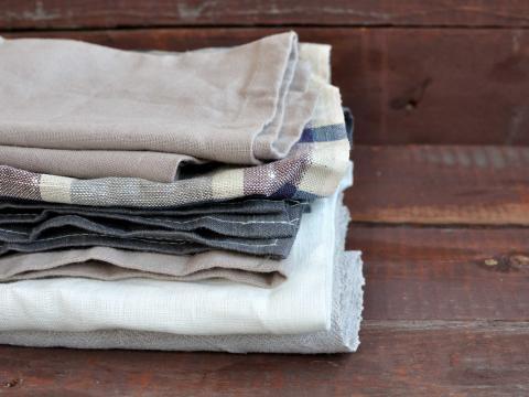 Katoen vs. linnen: wat is het beste materiaal voor keukenhanddoeken?