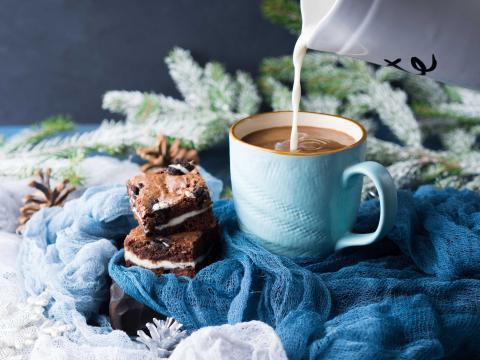 Deze kerst gebruik je je gourmetstel ook voor desserts