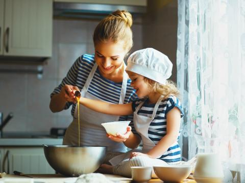 Koken met kinderen 1