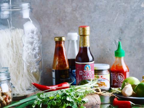 Naar de Aziatische supermarkt