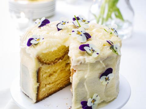Zondagse taart om mee uit te pakken