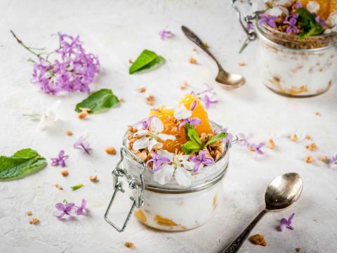 Eettbare bloemen: de favoriete smaak- en mooimakers van Véronique Leysen 1