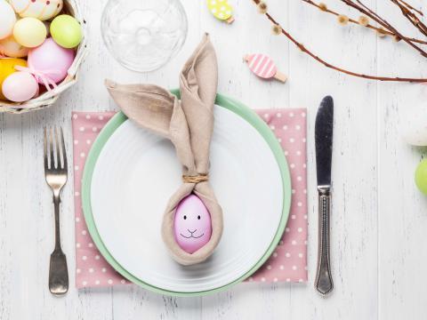 Origami voor foodies: servetideeën voor op je brunch