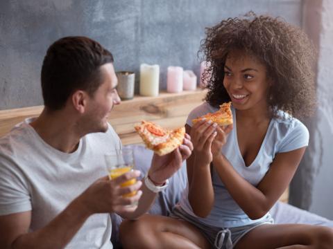 Waarom pizza een beter ontbijt is dan ontbijtgranen
