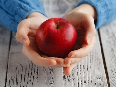 Sandra's superfoods: rode appelen
