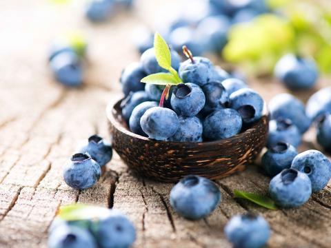 Sandra's superfoods: blauwe bessen