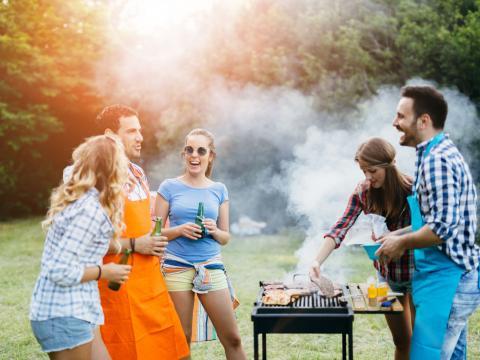 Hoe steek je de barbecue aan? 4
