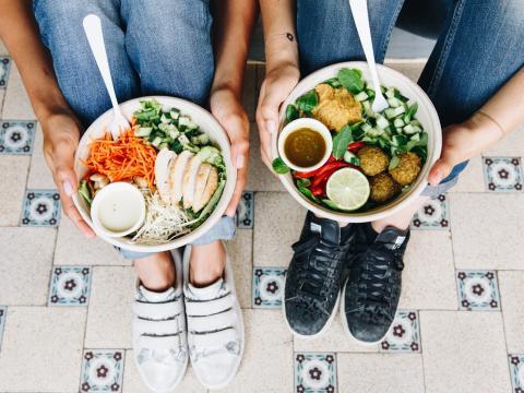 Hygge: le bar à salade healthy et tendance à Woluwe