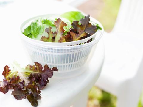 Vous n'utilisez probablement pas votre essoreuse à salade comme il faut