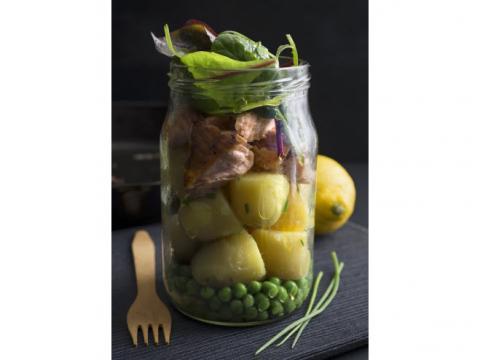 Ik ga op reis en ik neem mee... aardappeltjes!