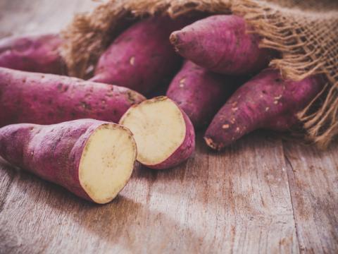 Wist je dat er niet alleen oranje zoete aardappelen bestaan?