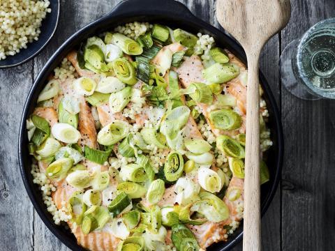 Ovenschotels met vis recepten