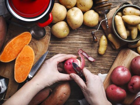 Is zoete aardappel gezonder dan gewone aardappels?