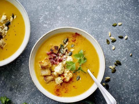 soep met croutons