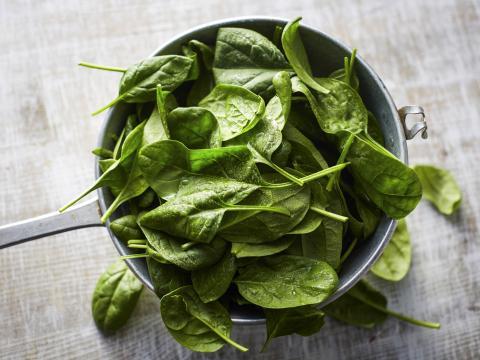 spinazie opnieuw opwarmen