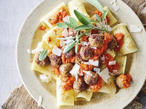 pasta met gehakt