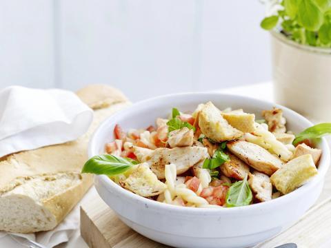 10x pastasalade met kip
